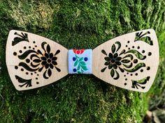 Drevený motýlik - Folklór – waidzeit.sk Accessories, Jewelry Accessories