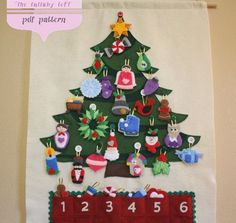Christmas Tree Advent Calendar • 29 Ornaments • PATTERN • Instant Digital Download •. $10.00, via Etsy.