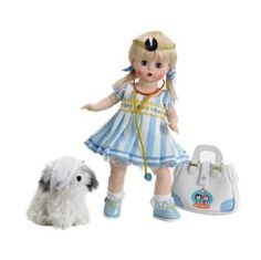 Wendy Plays Doctor, 8 , Americana Collection Doll