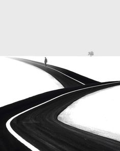 Inspiration: Minimalist Black and White Photography by Hossein Zare
