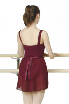 e0d922947 Browse Capezio's ladies' short Georgette wrap skirt, with next day delivery  available.