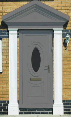 High Fluted Flat Pillar High Fluted Flat Pillar These flat pillars can be used in conjunction with our Door Surrounds, Portico, & Overdoor Canopy ranges. These pillars have a fluteddesign, to compliment any entrance or style. Designed for easy installation, and totally maintenance free, these GRP Pillars will give many years of trouble free service. Available in 2100mm & 2300mm lengths, they can be reduced in height with the use of a fine toothed handsaw. Available in 3 shades of White… Roofing Supplies, House Gate Design, Roof Lantern, Garden Windows, Roofing Systems, Light Oak, Shades Of White, Exterior Paint, Canopy