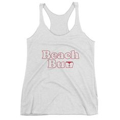 Do EveryThing With Love - Women's Racerback Yoga Fitness Tank Do Everything In Love, Beach Shirts, Workout Tanks, Beach Bum, Racerback Tank, Athletic Tank Tops, Shopping, Clothes, Bossbabe