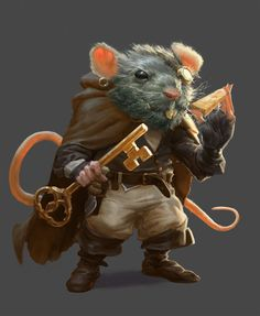 Martine's mercenary rat doesn't come cheap - if you stiff him on the Gouda you will regret it