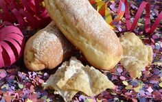 The FEAST before the FAST. Shrovetide (Mardi Gras, Fat Tuesday, Carnival, Shrove Tuesday, Pancake Tuesday)- that last day to use all the food in the pantry before the Lenten Fast. Food Trucks, Carnival Cakes, No Cook Meals, Mardi Gras, Nutrition, Bread, Cooking, Recipes, Torino