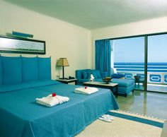 Double Room with Sea View... http://www.minospalace.com/en/Stay-267.htm