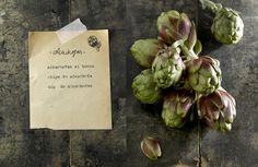 artichokesymás: alcachofas