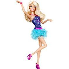 Boneca Barbie Fashionistas - Vestido Roxo e Azul - Mattel, lindos modelos de roupas para cada momento mágico.    Acompanha um lindo anel para deixar sua filha mais Fashion.