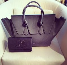 Love the bag & the wallet and the color is to die for!