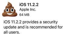 Eipä se parantunu #ios11 #apple #iphone