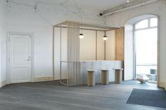Showroom Dinesen, Copenhagen, Danimarca Design: OeO studio Completamento: 2014