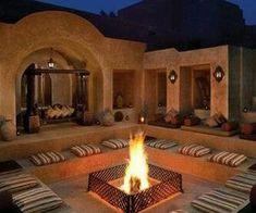 Book Bab Al Shams Desert Resort & Spa close to Desert in Dubai. Village House Design, Village Houses, Interior Design Images, Contemporary Interior Design, Interior Ideas, Interior Fit Out, Luxury Interior, Shisha Lounge, Desert Resort