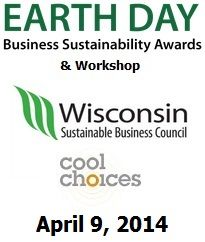 Don't Miss this April 9th sustainability event! Join colleagues at the WI Sustainable Business Council and Cool Choices Spring/Earth Day Workshop and Business Sustainability Awards at Potawatomi Casino - click for more information #sustainablebusiness   #earthday   http://www.wisconsinsustainability.com/workshop2014/