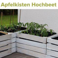 Alte Obstkisten diy kleines hochbeet aus alten obstkisten anleitung garten balkon