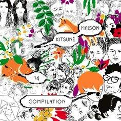 Various Artists – Kitsuné Maison Compilation 14: The Absinthe Edition   #illustration #albumcover #electronic #electropop #compilation #music #spotify