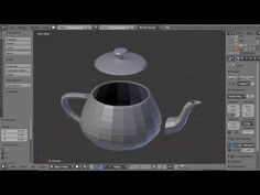 Blender Beginners Tutorial:  Separate Joined Parts Or Objects For Editin...
