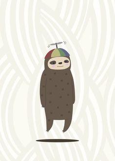 HITRECORD - Propeller Sloth