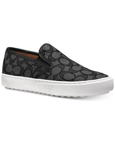 COACH Signature Slip-On Sneakers