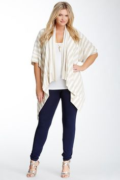 Loveappella Fitted Legging (Plus Size) by Loveappella on @HauteLook
