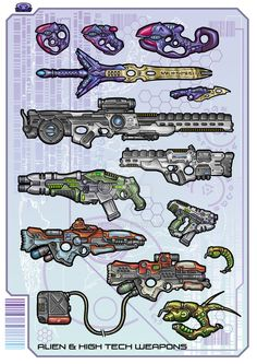 Energy Weapons - Color by biometal79