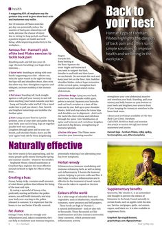 ~ Back to your best and naturally effective ~ #health #fitness #back #hayfever #spring #tips #advice #Farnham #Surrey