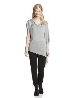 40% OFF SEN Women's Valeria One Shoulder Top (Grey)