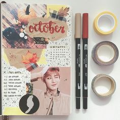 ✿*· pinterest ⇢ lottozxiu Bullet Art, Bullet Journal Inspo, Bullet Journal Layout, Book Journal, Colegio Ideas, Doodle, Journal Aesthetic, Art Journal Inspiration, Journal Ideas