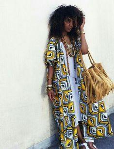 Latest Ankara Dress Styles - Loud In Naija African Inspired Fashion, African Print Fashion, Africa Fashion, African Fashion Dresses, Ethnic Fashion, Look Fashion, Fashion Prints, Fashion Outfits, Ankara Fashion