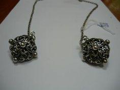 zilveren pomander - Antiek
