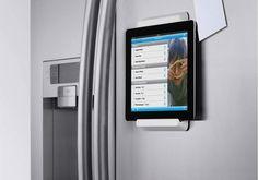 Soporte para colocar el iPad en el frigorífico (o cualquier superficie plana) de Belkin