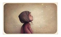 Rébecca Dautremer - Carte Jésus enfant   Oeuvres   Galerie Robillard