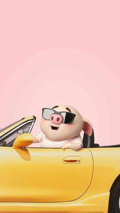 Pig Wallpaper, Animal Wallpaper, Disney Wallpaper, Cute Piglets, 3d Art, Pig Illustration, Funny Pigs, Mini Pigs, Baby Pigs