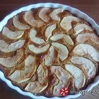 Ιταλικό κέικ με μήλα χωρίς ζάχαρη και χαμηλά λιπαρά Diabetic Recipes, Healthy Recipes, Apple Cake, Food And Drink, Lemon, Sweets, Cooking, Desserts, Cakes