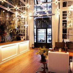 Iluminación para el hotel Ofelias de BCN