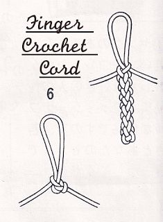 How To Finger Crochet a Cord