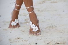 barefoot beach wedding sandals stylecaster