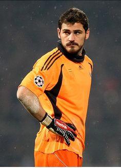 Iker Casillas. <3 yes please!