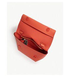 Leather Shoulder Bag, Leather Bag, Sack Bag, Leather Craft, Acne Studios, Mood, Handbags, Wallet, Zip