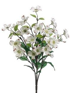 Artificial thistle spray in burgundy 30in tall wedding ceremony dogwood silk flower bush in white21 mightylinksfo Image collections
