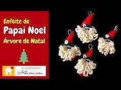 Faça um Lindo Papai Noel para decorar sua Árvore de Natal!! - YouTube