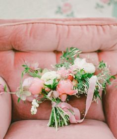 Soft Pink Bouquet | Floral Design by Amy Osaba