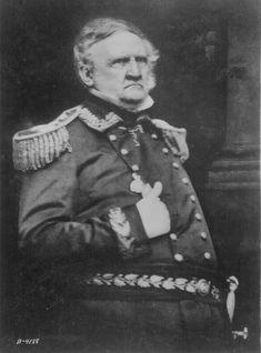 Lt. Gen. Winfield Scott     http://www.archives.gov/research/military/civil-war/photos/images/civil-war-174.jpg