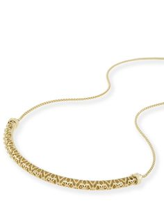 Kendra Scott: Lucy Choker Necklace In Gold