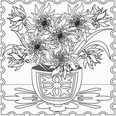 Бесшовный фон страницы раскраска с декоративные цветочные декоративные — Стоковое изображение #102969840