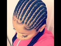 Braided Cornrow Hairstyles : Great and Popular Hairstyles for Ladies Braided Cornrow Hairstyles : Gr Braided Cornrow Hairstyles, African Braids Hairstyles, Cornrows, Black Hairstyles, Hairdos, Black Girl Braids, Girls Braids, Curly Hair Styles, Natural Hair Styles