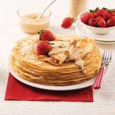 Bagels au miel et raisins secs - 5 ingredients 15 minutes Desserts Français, French Desserts, Crepes Minces, Waffles, Pancakes, Dessert Crepes, Brunch Bar, Raisin, Smoothies