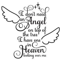 Silhouette Design Store - browse-my-designs Christmas Quotes, Christmas Angels, Christmas Decor, Silhouette Design, Silhouette Cameo Projects, Grieving Quotes, Design Quotes, Signs, Cricut Design