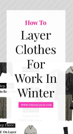 While it's easy to think you need to put in less effort in cold weather and you can just hide underneath your layers, there is a method to layering and still feeling stylish and put together.  Layers are a great way to add depth and a little character to your look - look at it as your finishing tou