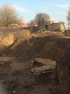 Opgraving bij Duvelsgracht