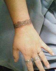 celtic tattoo designs for wrist - Google Search